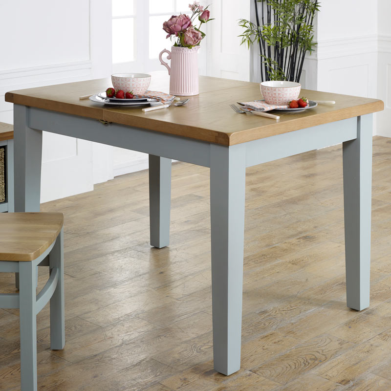 Grey Extending Dining Table - Rochford Range