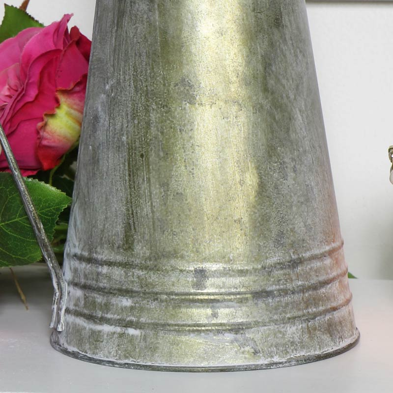 Grey Metal Jug