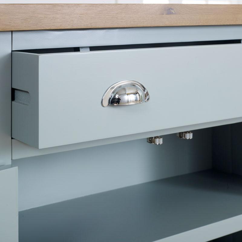 Grey Sideboard Storage Cupboard - Rochford Range