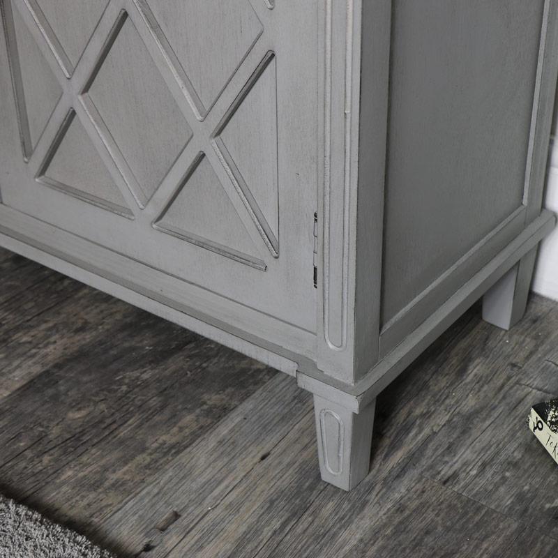 Grey Sideboard Storage Unit - Venice Range