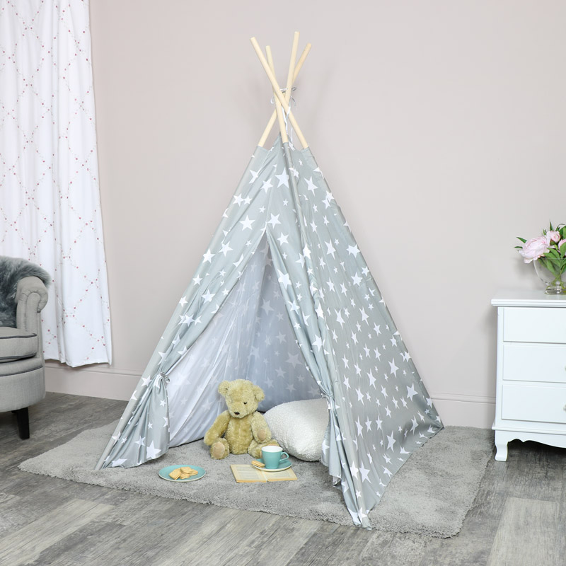 hot sales a2cd8 d7578 Grey Star Teepee