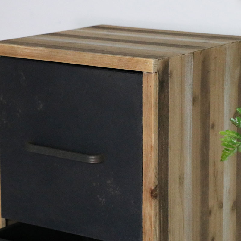 Industrial 3 Drawer Chest of Drawers