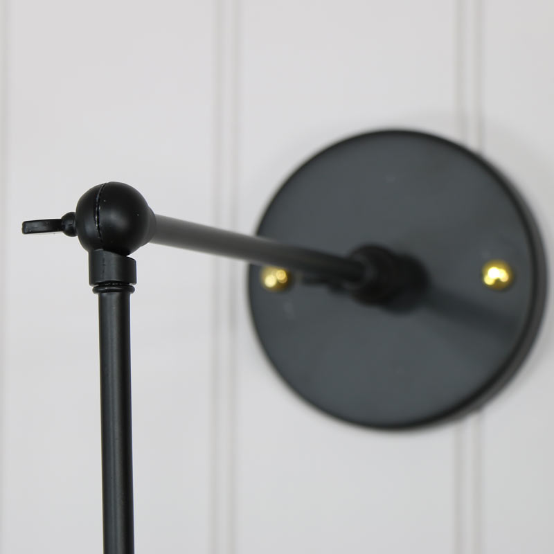 Wall Lights Adjustable : Industrial Style Adjustable Wall Light - Melody Maison