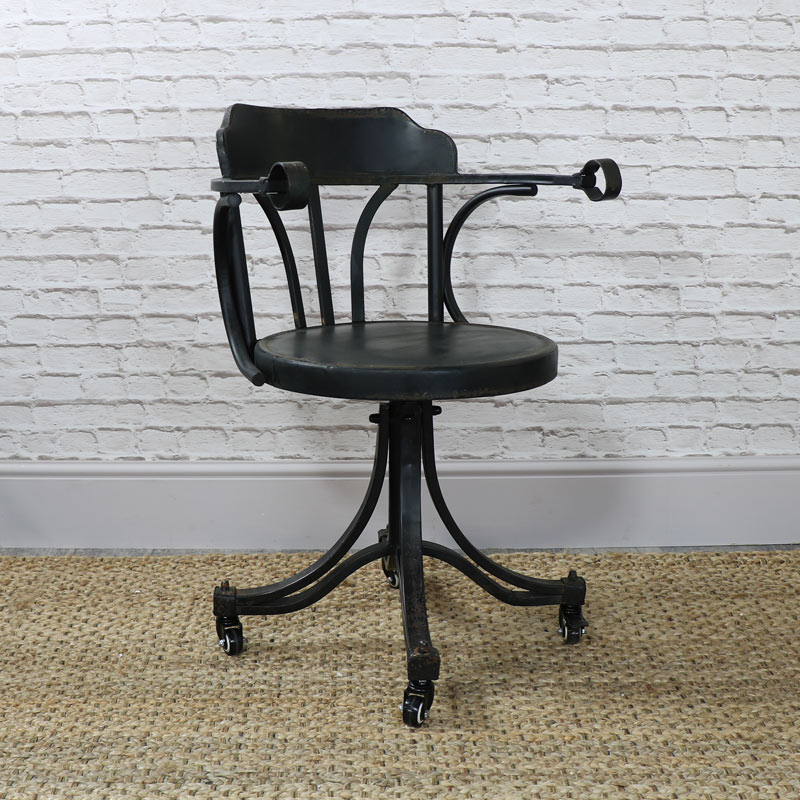 industrial style office chair. Industrial Style Swivel Desk/Office Chair Office I