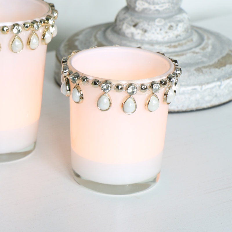 Jewelled Tealight Holder