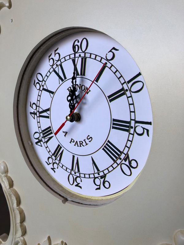 Kensington Range - Cream Ornate Grandfather Clock DAMAGED SECOND 1066