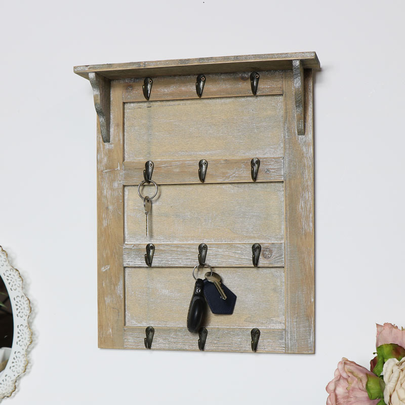 Key Rack with Shelf