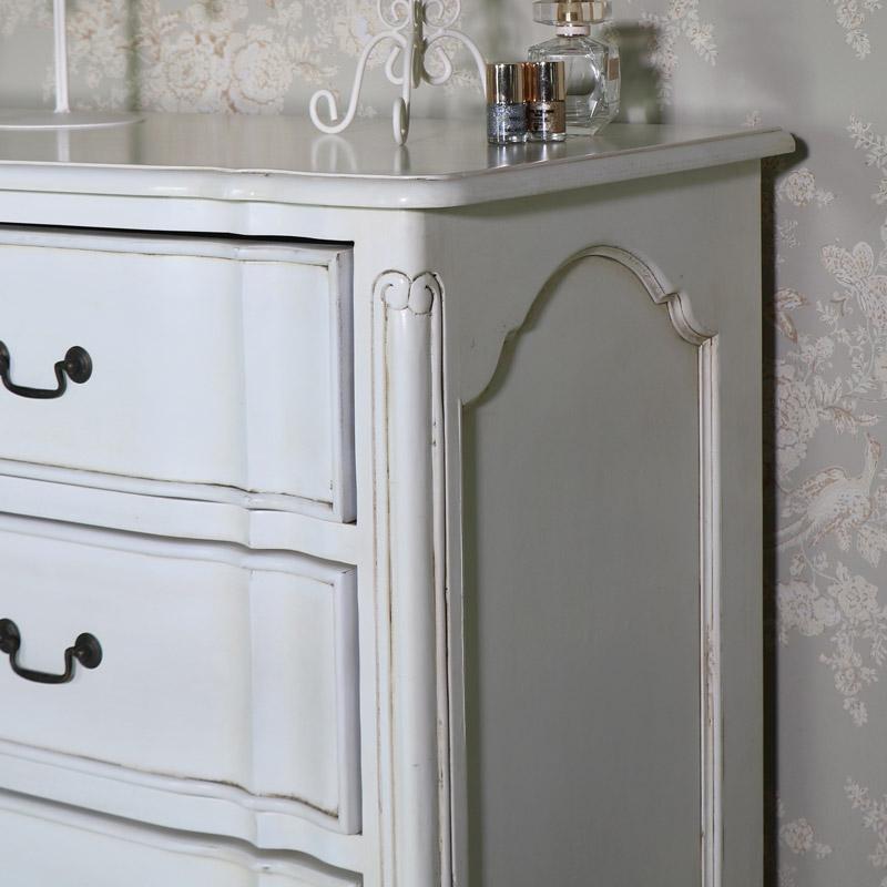 Large Cream Vintage Chest of Drawers - Limoges Range