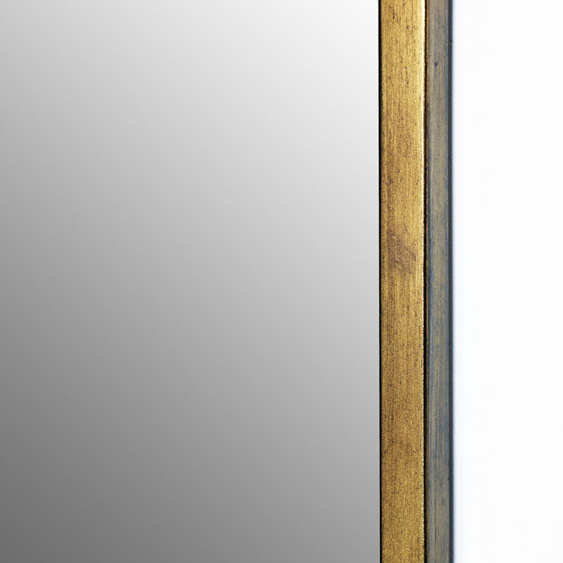 Large Gold Rectangle Mirror - Melody Maison®