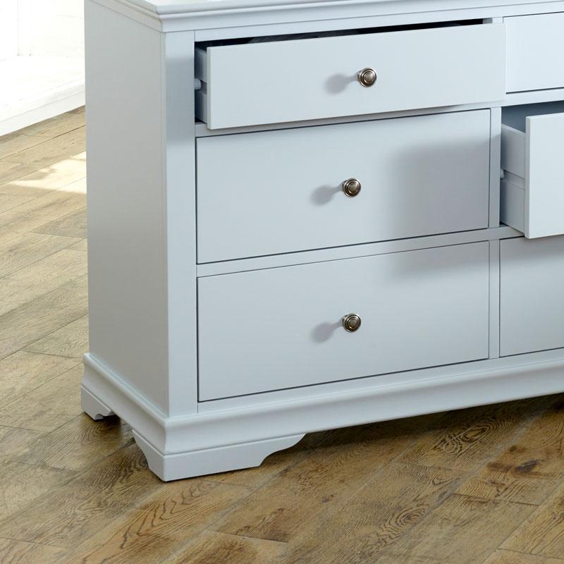 Large Grey Chest of Drawers - Newbury Grey Range