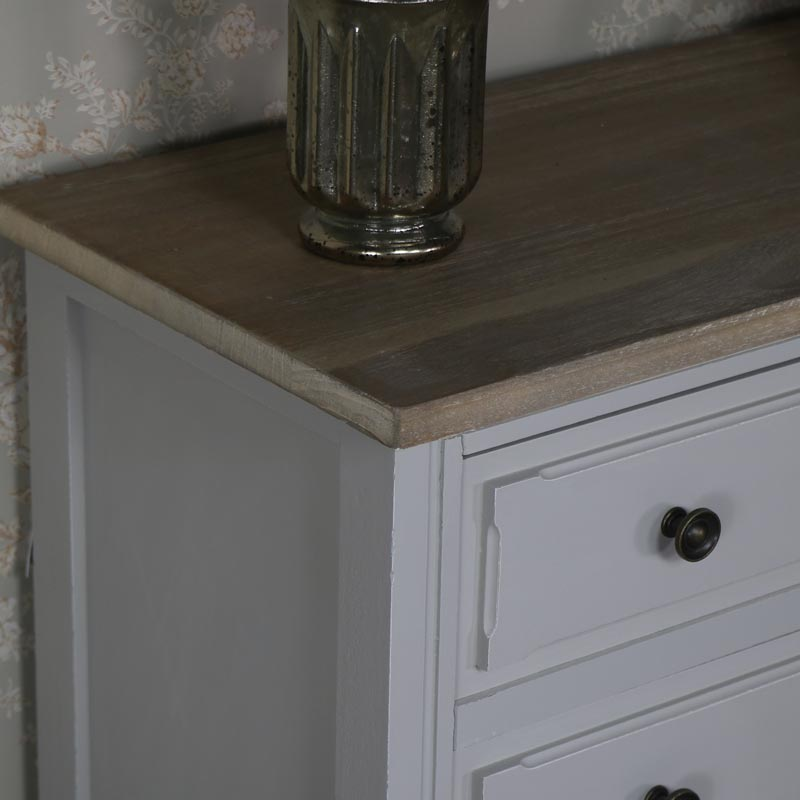 Large Grey Chest of Drawers - Stanford Range