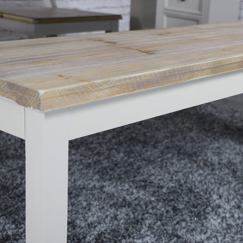 Large Grey Dining Table Bench - Cotswold Range