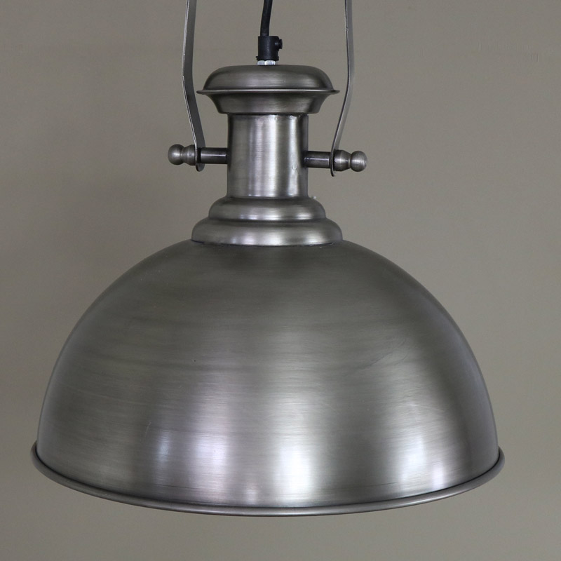 Large Industrial Style Pendant Light Fitting