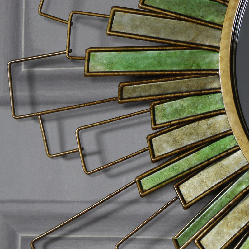 Large Sunburst Bevelled Wall Mirror 90cm x 90cm