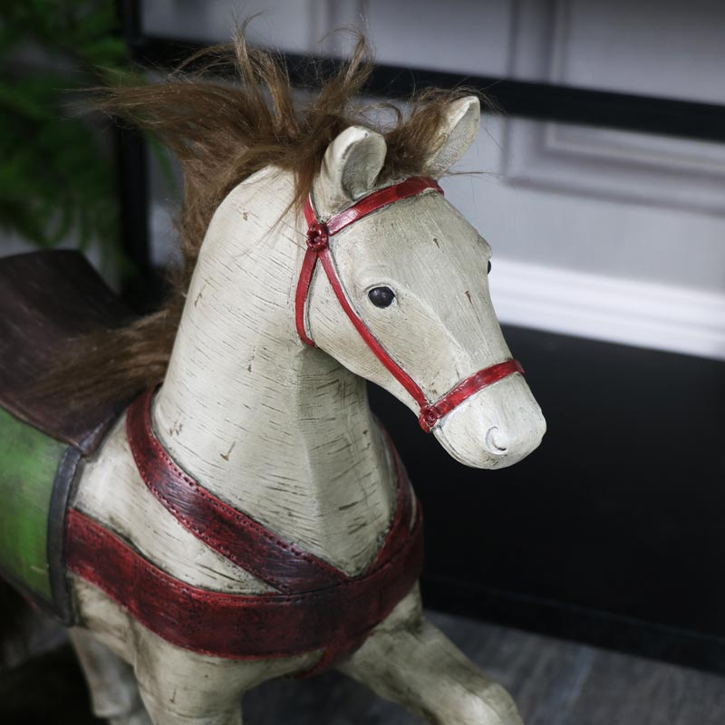 Large Vintage Horse Ornament