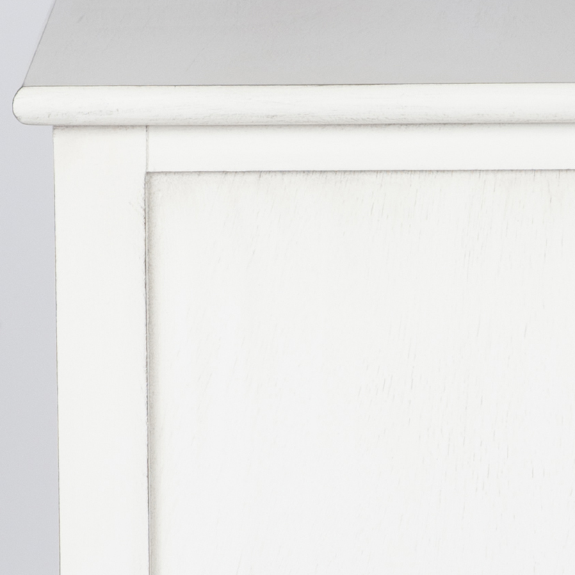 Large White Chest of Drawers - Mia Range