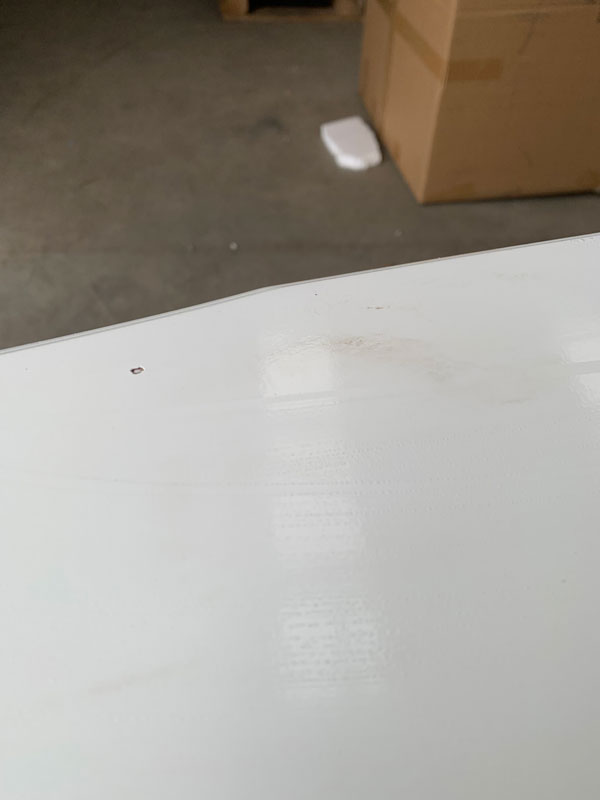 Large White Chest of Drawers - Victoria Range DAMAGED SECONDS 2018