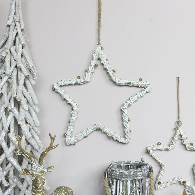Large White Wall Hanging Star
