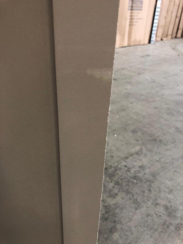 Linen Closet Low Wardrobe Daventry Grey Range Damaged