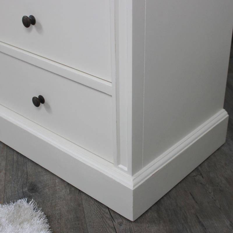 London Range - Cream 2 Over 3 Chest Of Drawers