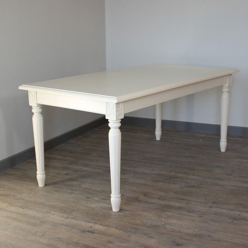 London Range   Cream Dining Table ...