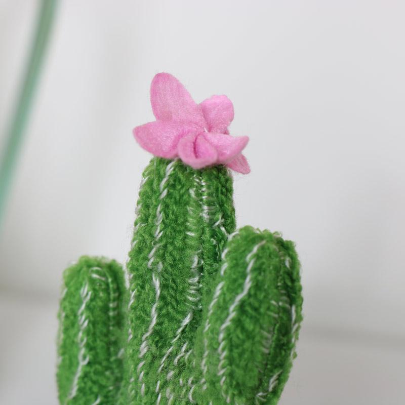 Mini Cactus Fabric Decoration
