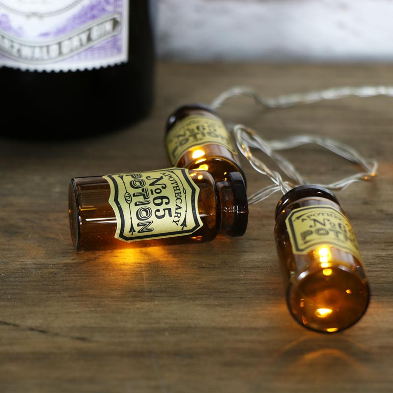 Mini Vintage Apothecary Jar String Lights