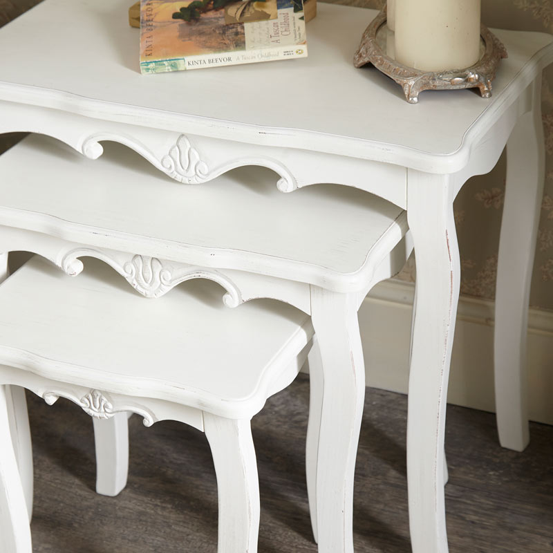 White Nest of Tables - Jolie Range
