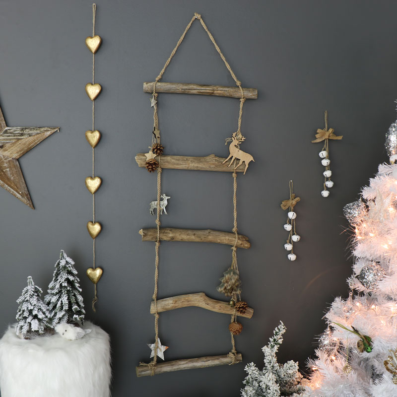 nordic rope ladder christmas decoration