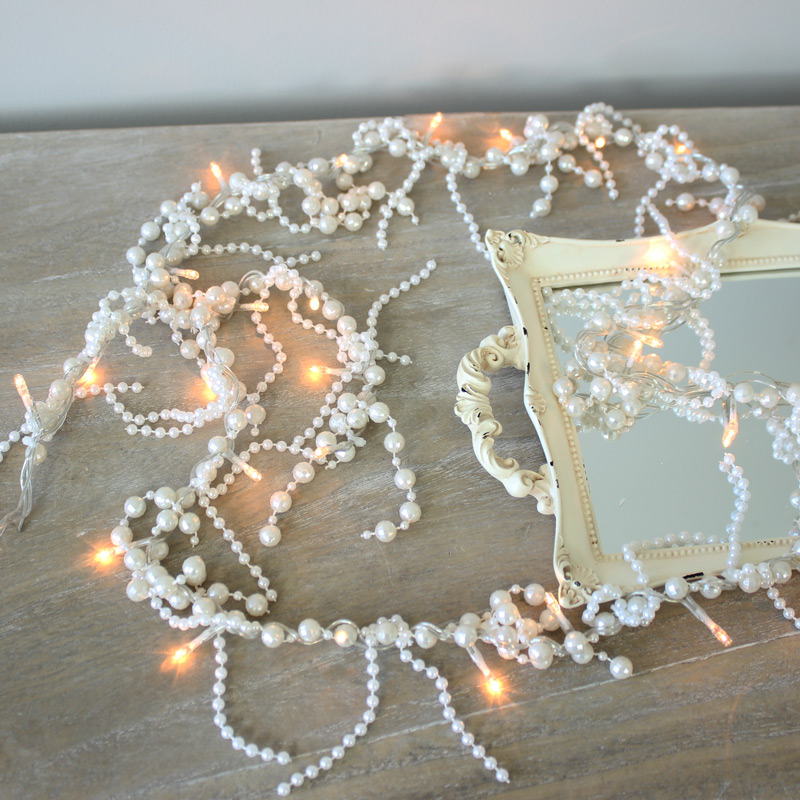 Pearl Garland Fairy Lights