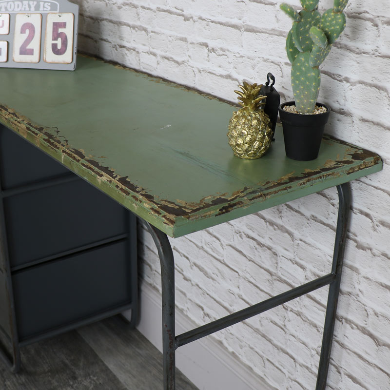 Retro Industrial Style Dressing Table/Desk
