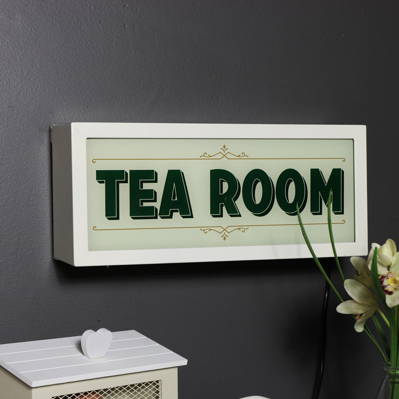 Retro Light Up Tea Box