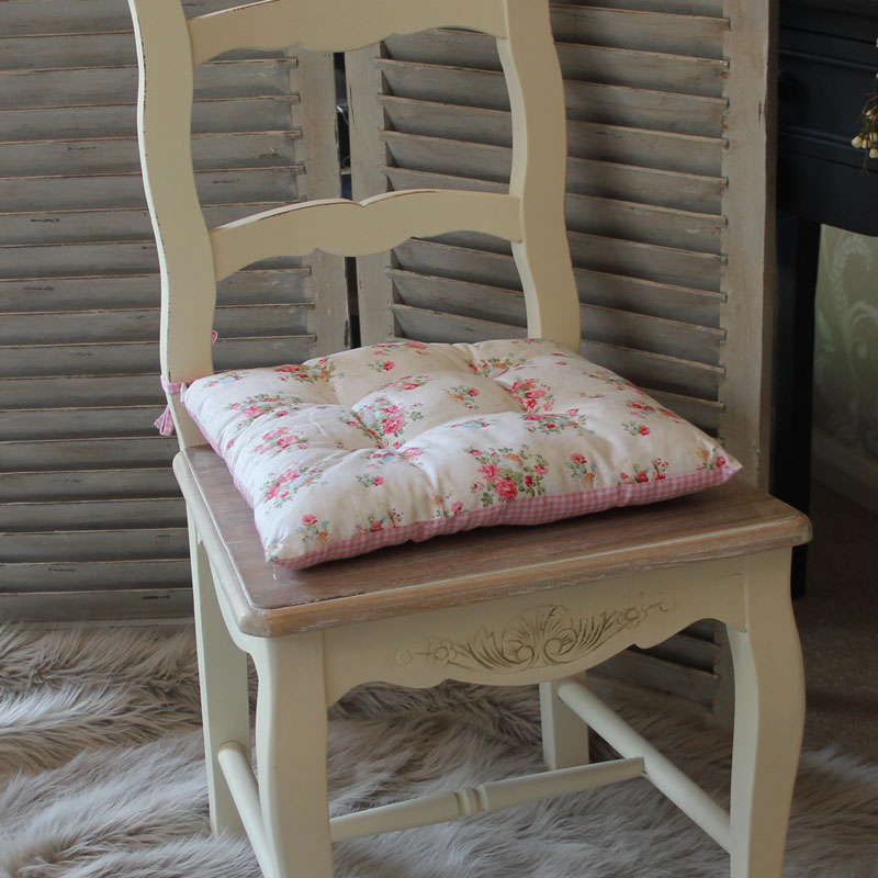Shabby Chic Rocking Chair Pads : Shabby Chic Dining Chair Cushions - On Sale Rocking Chair Cushion Navy Polka Dot By ...