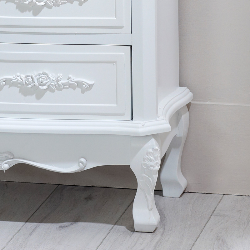 Rose Range - Cream 4 Drawer Chest