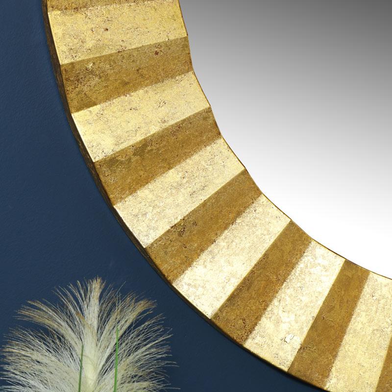 Round Gold Wall Mirror 79cm x 79cm