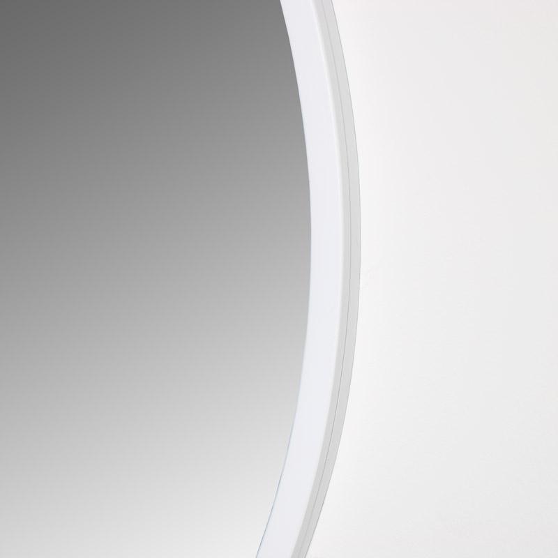 Round White Wall Mirror 80cm x 80cm