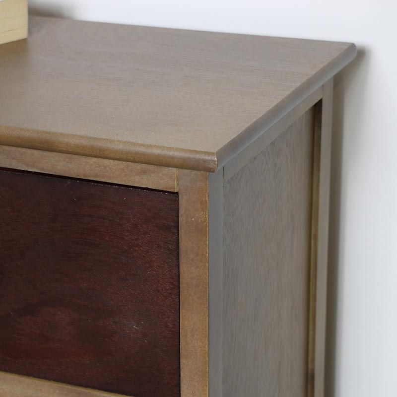 Rustic 4 Drawer Chest of Drawers - Loft Living Range