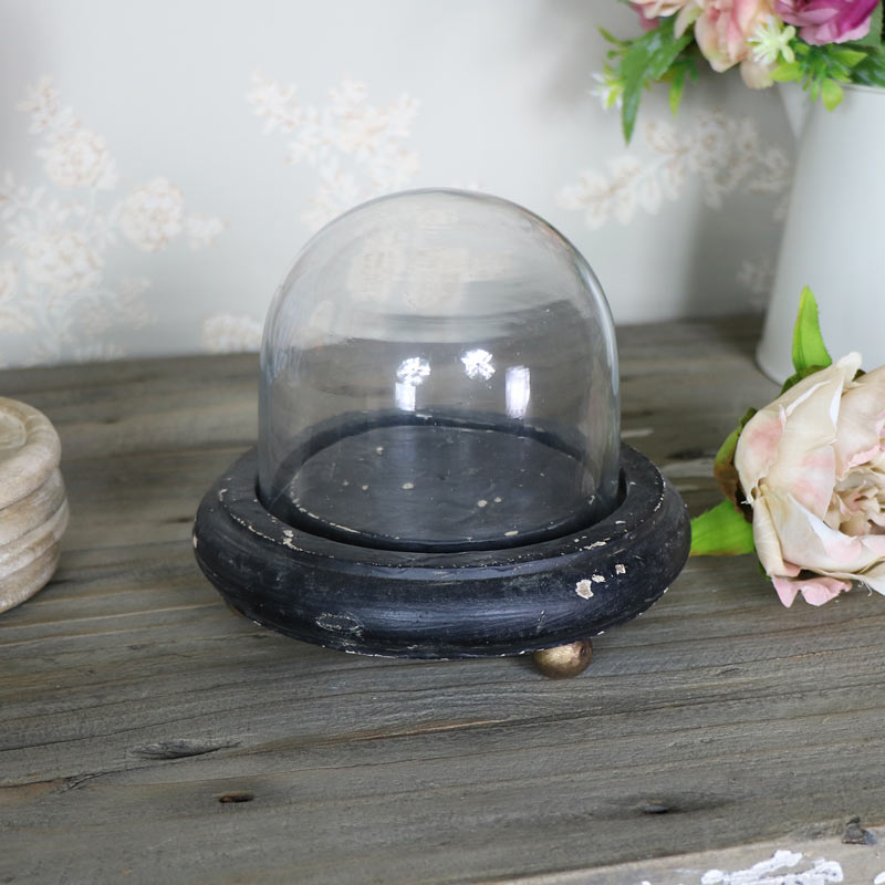 Rustic Cloche Display Stand