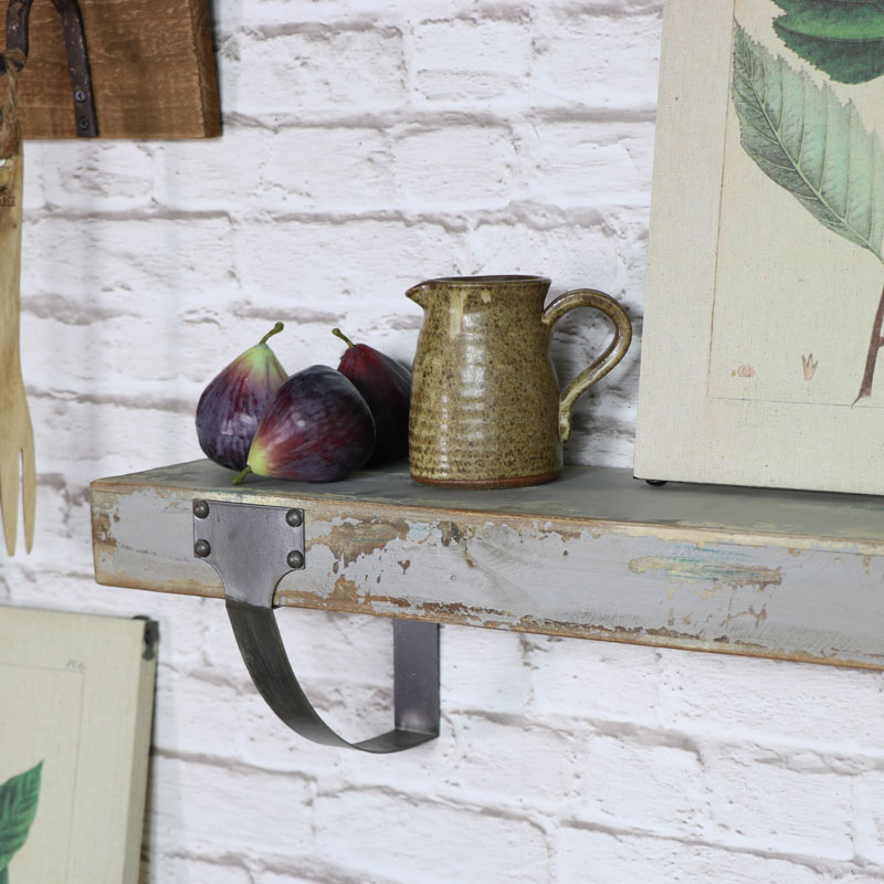 Rustic Wooden Wall Shelf - Melody Maison®
