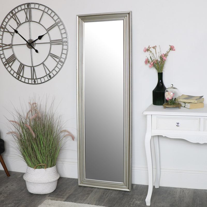 Tall Champagne Full Length Mirror 52 X 160cm Melody Maison