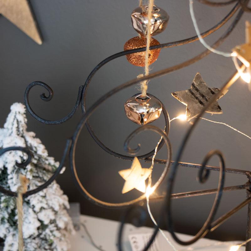 Tall Rustic Metal Christmas Tree