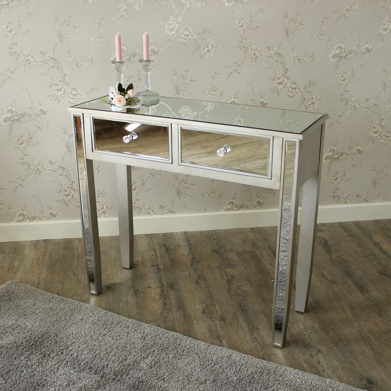 The Angelina Range - Mirrored Dressing table