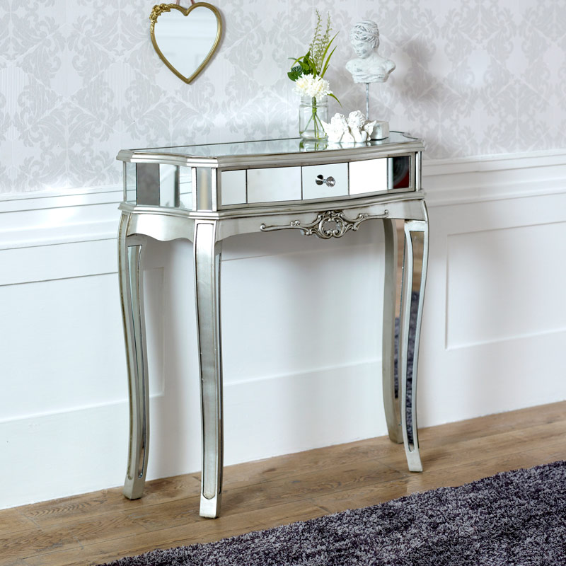 Half Moon Console Table Tiffany Range Melody Maison 174