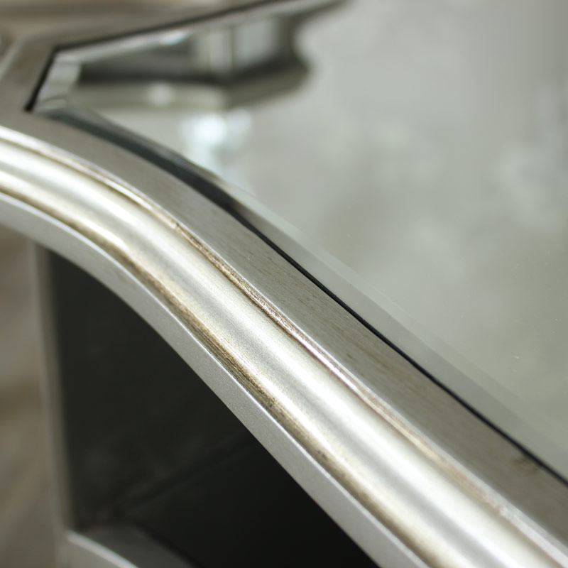 Tiffany Range - Mirrored Television Cabinet