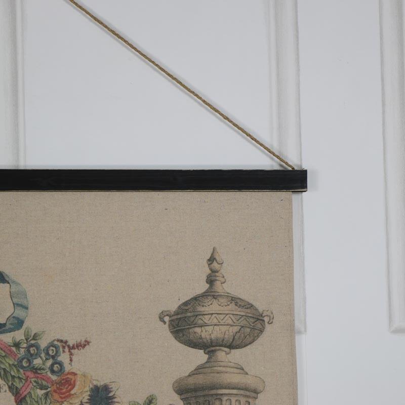 Vintage Floral Hanging Wall Art