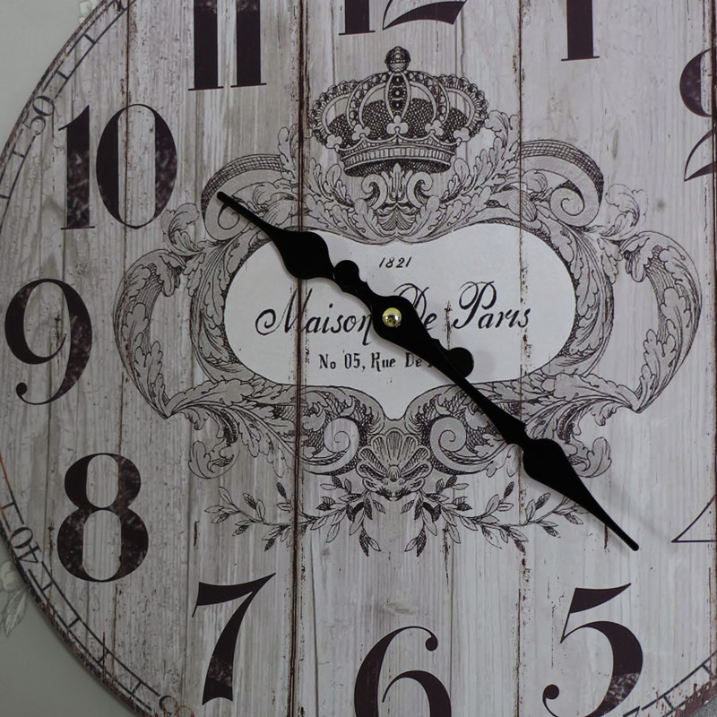 Vintage French Style Wall Clock