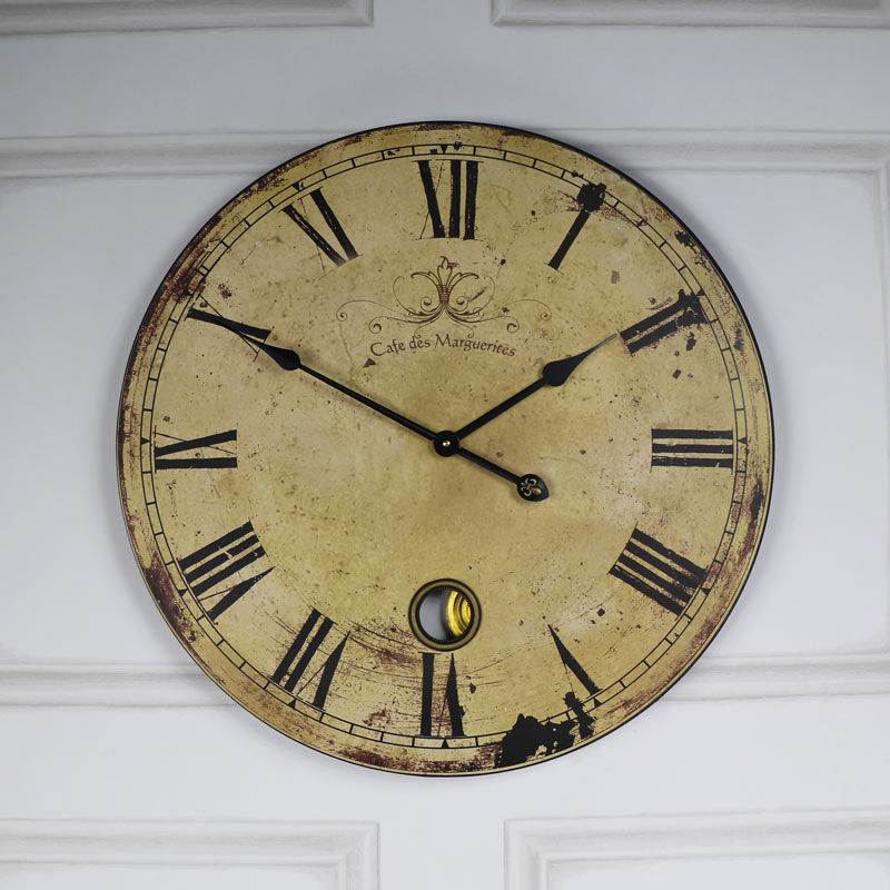Vintage Clock Extra Large French Style Clock Melody Maison 174