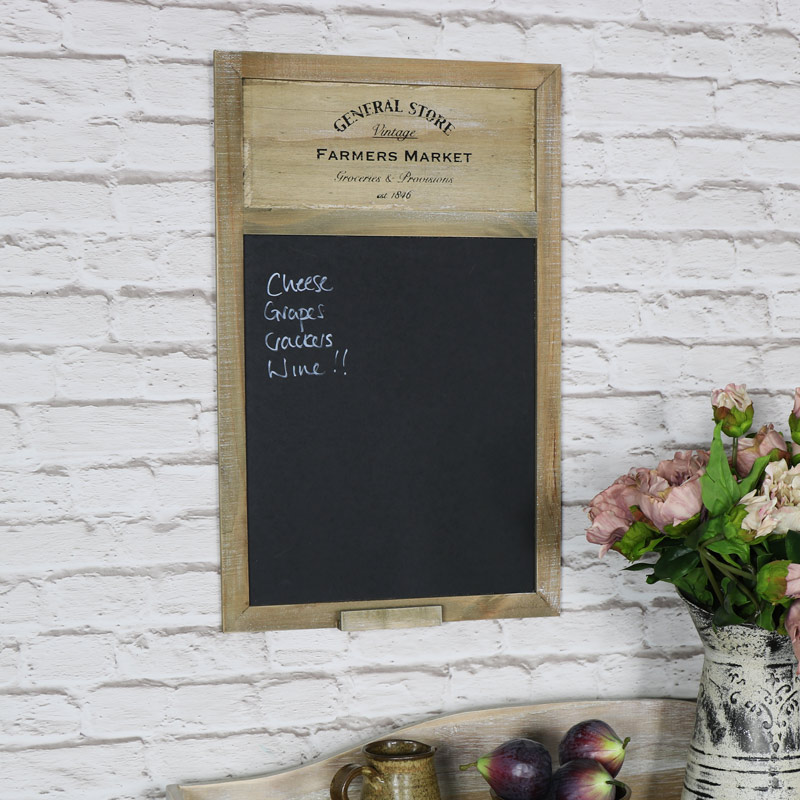 Vintage Style General Store Chalk Board