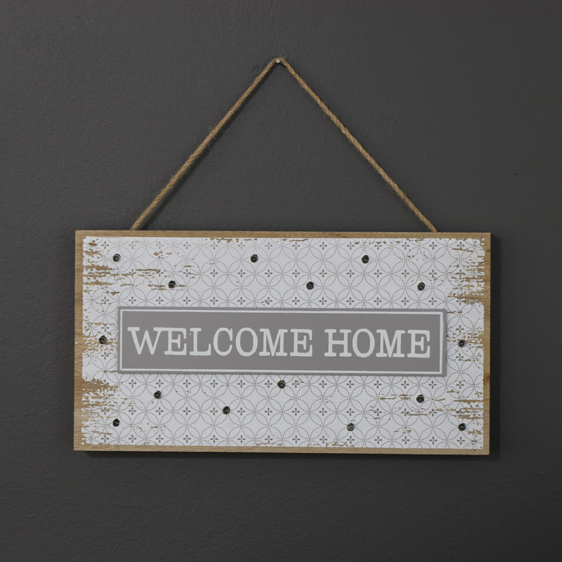 LED Welcome Home Sign