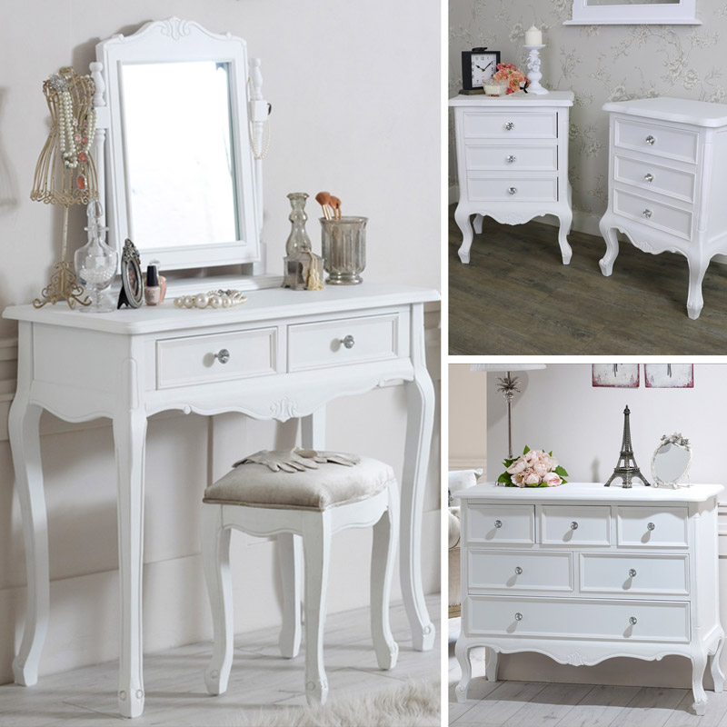 White Bedroom Furniture Dressing Tables